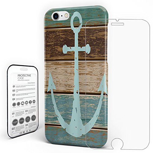 - For iPhone 6 Case,iPhone 6s Case Hard Phone Case Protective Design iPhone 6s Nautical Anchor Rustic Wood Board Pattern by Pretty Lee