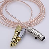 HJ-AK7 1.2M 8 cores 5N OCC Litz braid Hybrid Silver plated Hi-End HIFI Cable Headphone Upgrade Cable for AKG K272 K242 K702 Q701