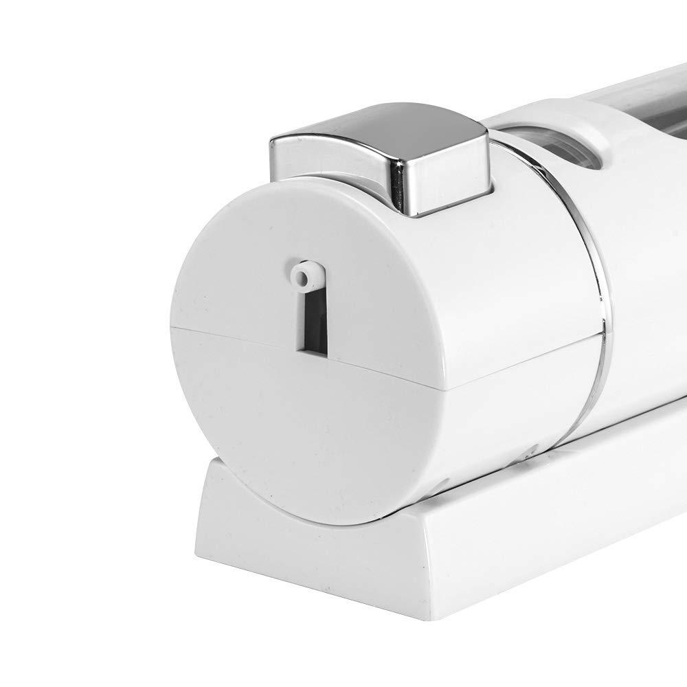 Gel Doccia Shampoo lozione Per Il Corpo Dispenser di Sapone Erogatore di Sapone Manuale da 400ml Supporto da Muro Per Cucina Bagno di Hotel Dispensatore di Pompa Ricaricabile Per Sapone