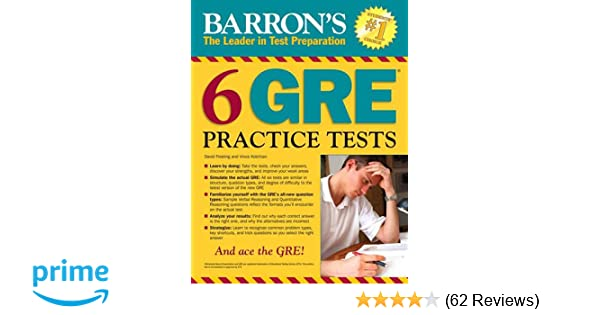 Barrons 6 gre practice tests 2nd edition david freeling vince barrons 6 gre practice tests 2nd edition david freeling vince kotchian 8601421951401 amazon books fandeluxe Gallery
