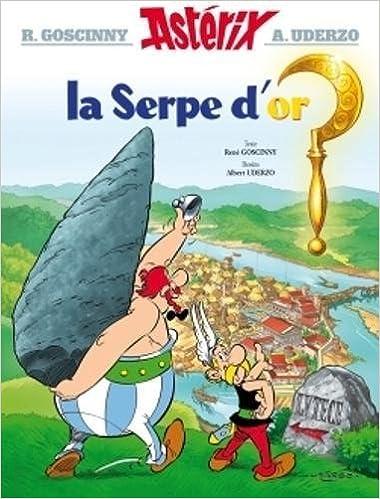 Asterix La Serpe D Or N 2 Amazon Fr Rene Goscinny
