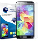 Tech Armor Samsung Galaxy S5 Anti-Glare/Anti-Fingerprint (Matte) Screen Protectors [3-Pack] Lifetime Warranty