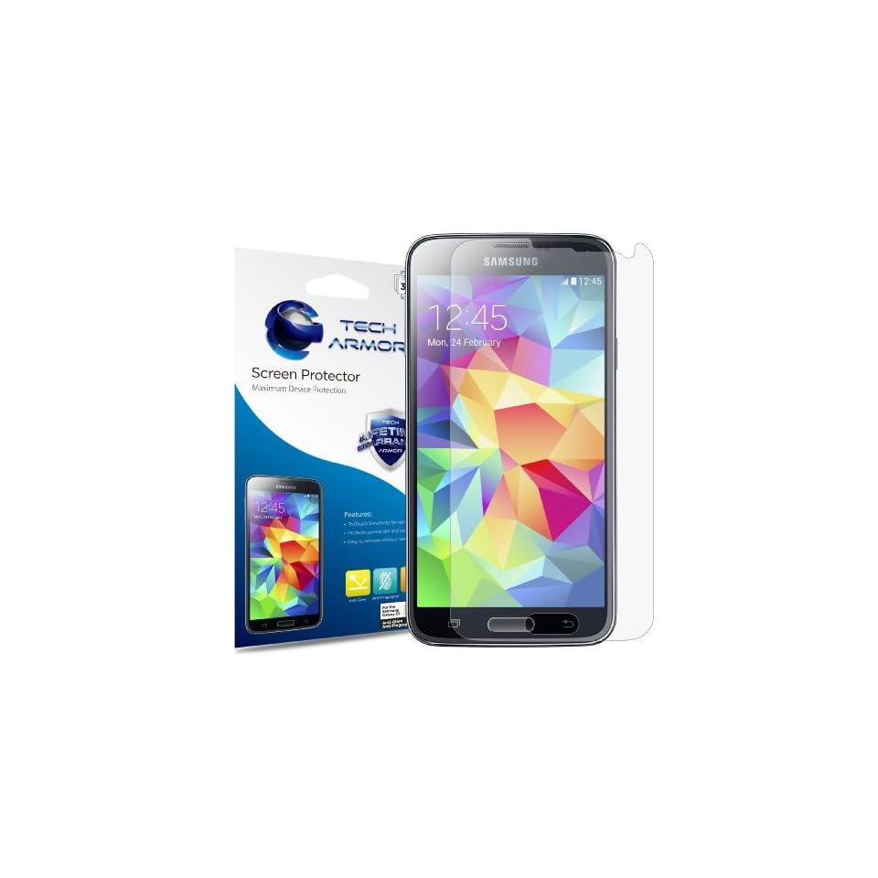 Tech Armor Samsung Galaxy S5 Anti Glare/Anti Fingerprint (Matte) Screen Protectors [3 Pack]