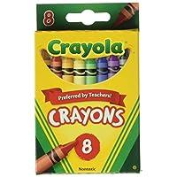 Crayola Bulk Buy Crayons 8 /Pkg 52-3008 (paquete de 12)