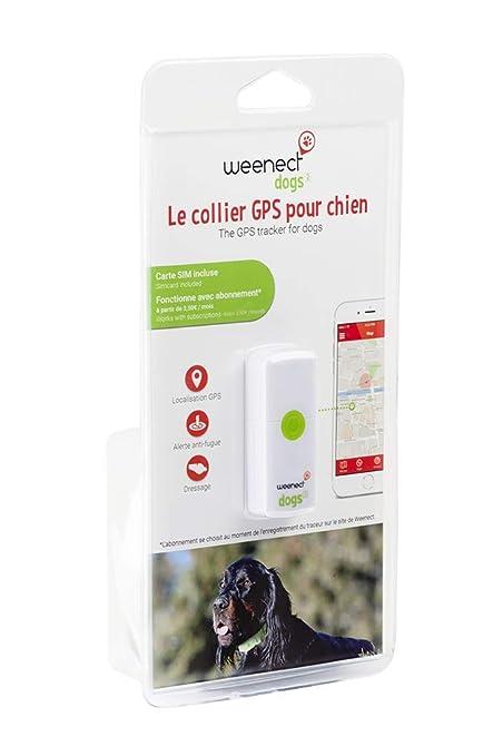 Weenect Dogs - Rastreador GPS para Perros