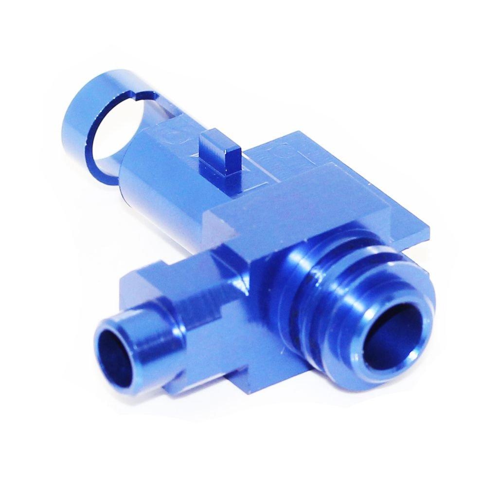 Airsoft Softair 5KU CNC-Aluminium Hop up Chamber f/ür M4 M16 Serie AEG Blau