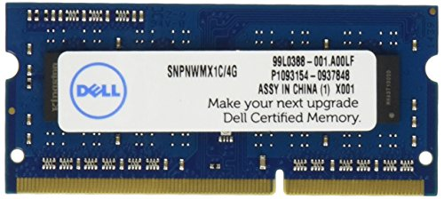 - Dell Module PC Memory SNPNWMX1C/4G