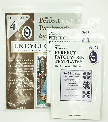 The Perfect Patchwork System Encyclopedia Volume 4 Set - Includes Templates Set L and M by Marti Michell