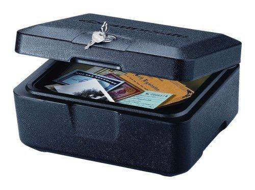 SentrySafe 500 FIRE-SAFE Box, 0.16 Cubic Feet, Black by SentrySafe