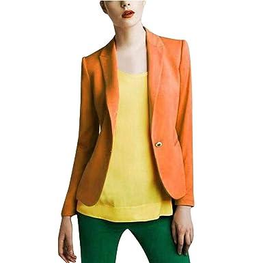 SUDADY Giacca Donna Elegante Blazer, Jacket Donne Tailleur