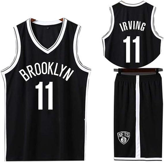11 Kyrie Irving for Brooklyn Nets - Camiseta de Baloncesto para Hombre, 2 Piezas, Camiseta de Baloncesto y Pantalones Cortos (XS-XXXL): Amazon.es: Ropa y accesorios