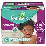 Pampers Cruisers Pañales Etapa 6, 72 Piezas
