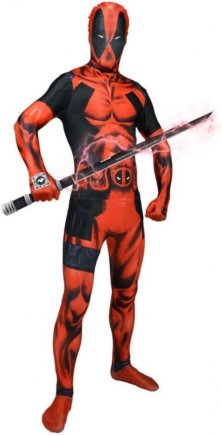 Morphsuits - Disfraz, Valor Básico Para Deadpool 165-180 Cm Altura ...