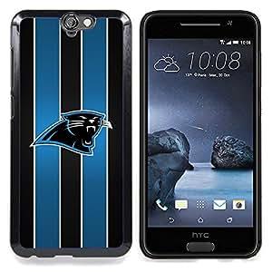 "Qstar Arte & diseño plástico duro Fundas Cover Cubre Hard Case Cover para HTC One A9 (Panther Equipo deportivo"")"