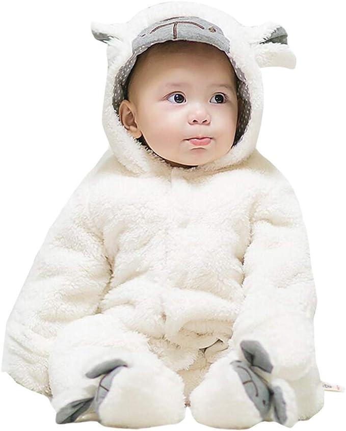 Gaga city - Pelele de franela para bebé, diseño de animales ...
