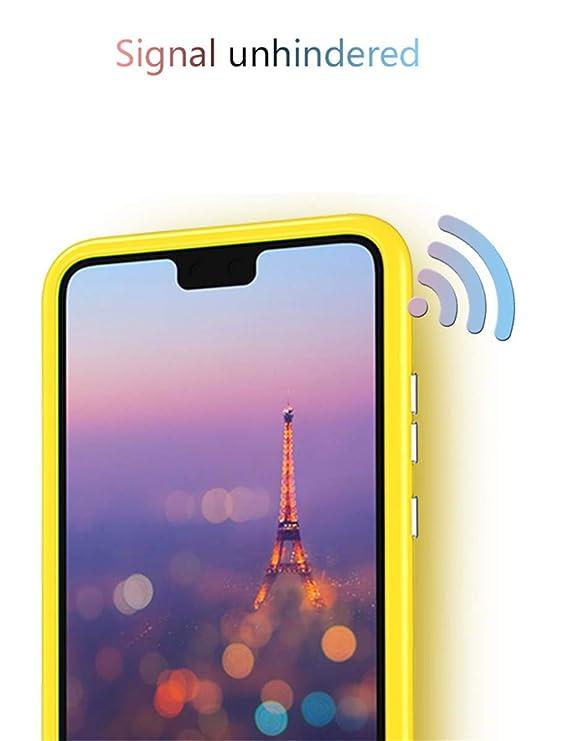 Funda Huawei P20, Huawei P20 Pro Carcasa Ultra-Delgado Anti-rasguños Case Cover 360 Integral Para Ambas Caras + Protector de Pantalla de Vidrio Templado ...
