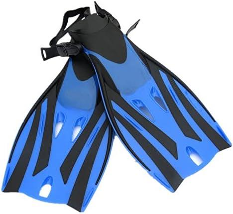足ひれ 水泳のためのシュノーケリングのひれのダイビングのひれ ダイビングフィン (色 : Yellow, Size : M)