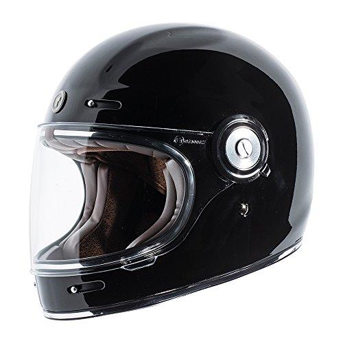 Retro Style Full Face Helmet - 2