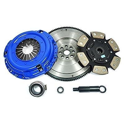 PPC SPORT 3 CLUTCH KIT+HD FLYWHEEL FITS 92-05 HONDA CIVIC DEL SOL D15 D16 D17: Automotive