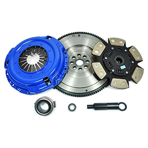 Pickup Clutch Flywheel - PPC SPORT 3 CLUTCH KIT & FLYWHEEL fits 83-95 PATHFINDER 720 D21 PICKUP 2.0L 2.4L