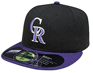 MLB Colorado Rockies Alternate AC On Field 59Fifty Fitted Cap-712