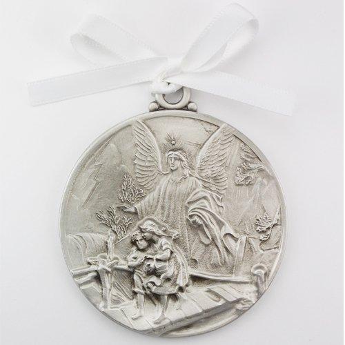 1 X McVan Inc. Guardian Angel Crib Medal 2-3/4