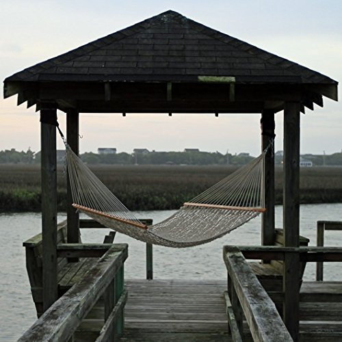 Pawley's Island Original Collection Presidential Size Duracord Rope Hammock, Oatmeal (Duracord Outdoor Rope Hammock)