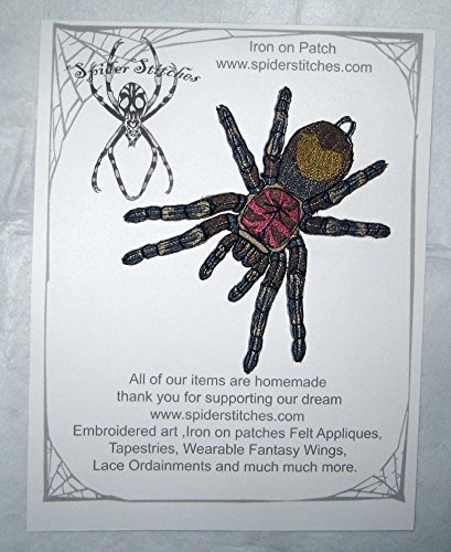 Chilean Rose Hair Tarantula Grammostola Rosea Tarantula Spider Iron on (Homemade Insect Costumes)