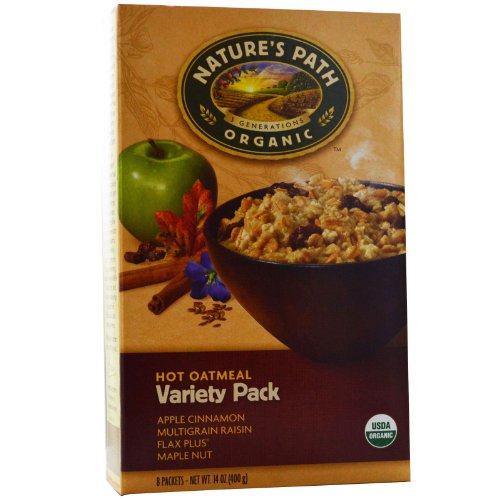 Nature's Path Organic Hot Oatmeal Variety Pack, 53.6 Ounce