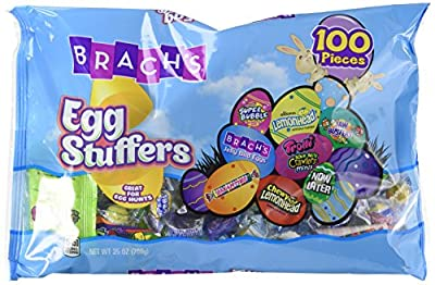 Brach's Stuffers Easter Candy Variety, 100 Count, Net. Weight 25 Ounce (Pack of 2) from Ferrara Pan Candy Co.