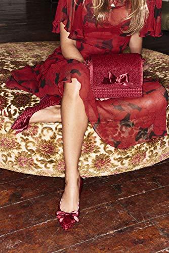 Ruby Balletto Shoo Donna Cora Burgundy r87xvgrw