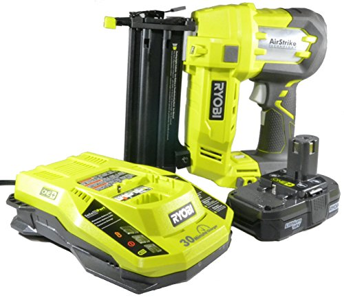 Ryobi 3 Piece 18V One+ Airstrike Brad Nailer Kit (Includes: 1 x P320 Brad Nailer