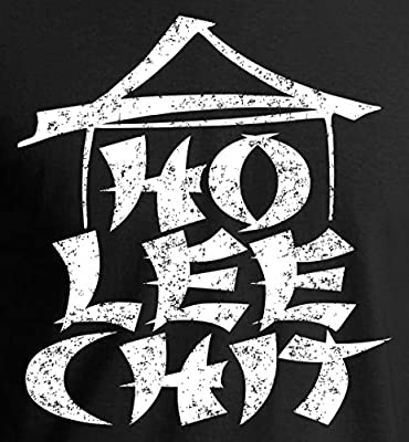 Ho Lee Chit Funny Graphic Holy Sh!t T-Shirt - Vintage/Distressed Print