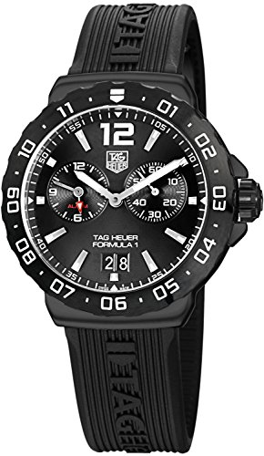 (Tag Heuer Formula 1 Titanium Chronograph Mens watch - Black)