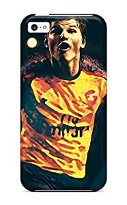 Iphone 5c Case Cover - Slim Fit Tpu Protector Shock Absorbent Case (andrei Arshavin)