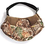 HOT SHOT Men's Camo Shaped Textpac Hand Muff - Insulated Warmer, Realtree Edge, Outdoor Hunting Camouflage