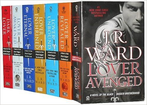 Black Dagger Brotherhood By J R Ward 7 Books Set Pack Collection