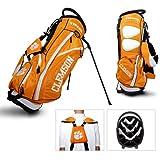 Team Golf USA NCAA Clemson University Tigers Fairway Stand Bag (Orange)