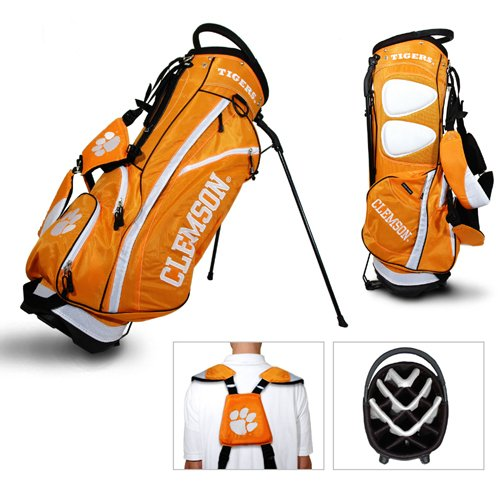 Team Golf USA NCAA Clemson University Tigers Fairway Stand Bag (Orange) by Team Golf