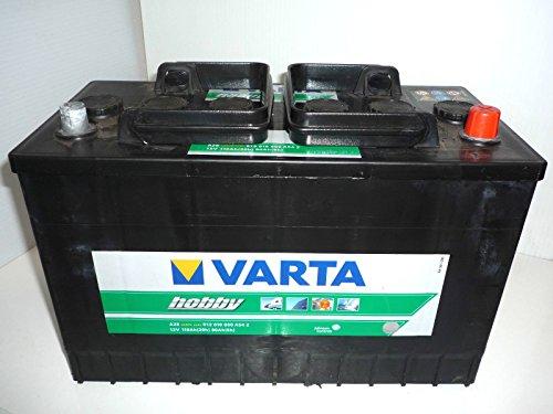 12V 110AH Deep Cycle Battery VARTA HOBBY Leisure Caravan Marine Boat Solar...