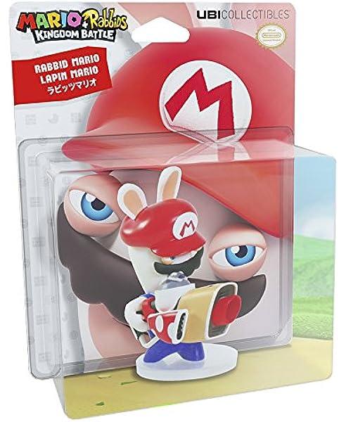Ubisoft - Rabbids Mario Figura, 8 Cm: Amazon.es: Videojuegos