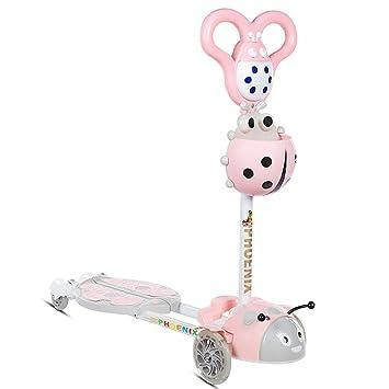 Amazon.com: Minmin - Patinete para niños de 2 a 8 años, tipo ...