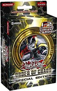 Yugioh Order of Chaos ORCS Special Edition Pack (3 Booster + Random Promo)