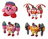 kirby action figures - Takaratomy Kirby: Planet Robobot: Robobot Armor Collection (4-Piece)