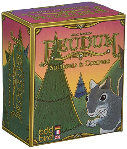 Odd Bird Games Feudum-Squirrels and Conifers, Game - Noble Mini Blind