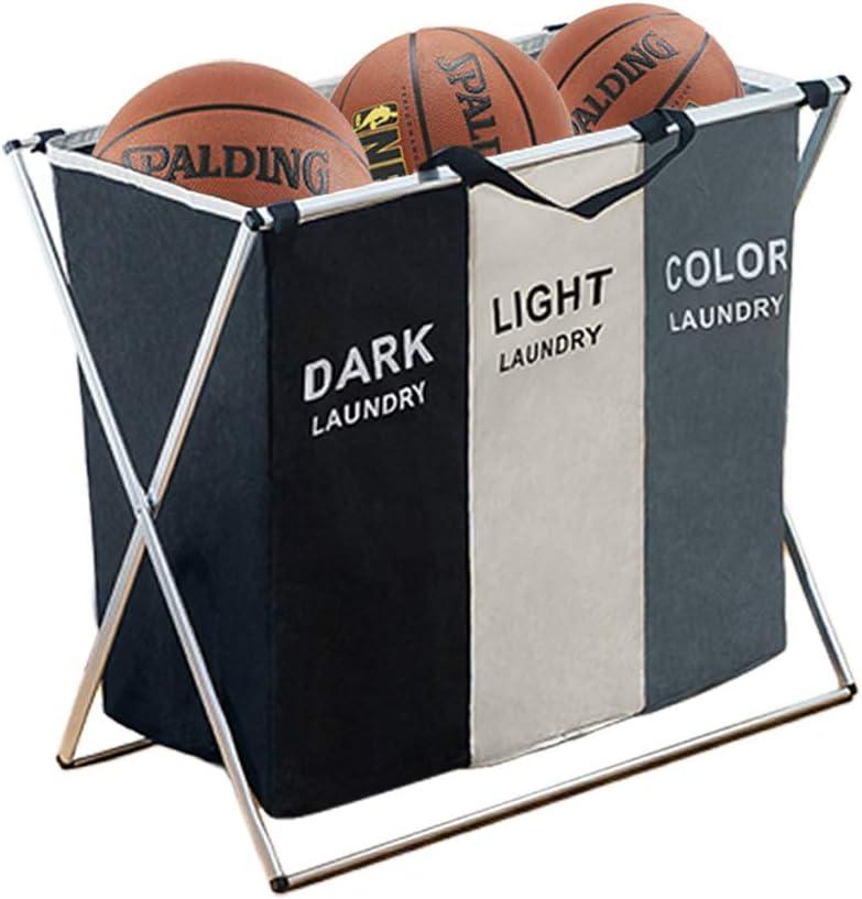 16 X 30 X 35 inch Heavy Duty Rolling Wheels with Break for Dirty Clothes Storage Baskets Bin BRIGHTSHOW 240L Laundry Basket Hamper Sorter Cart