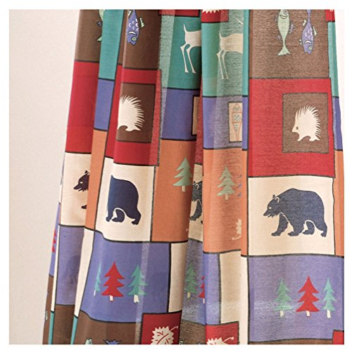 The Woods Scene Shower Curtain (Northern Exposure Drape)