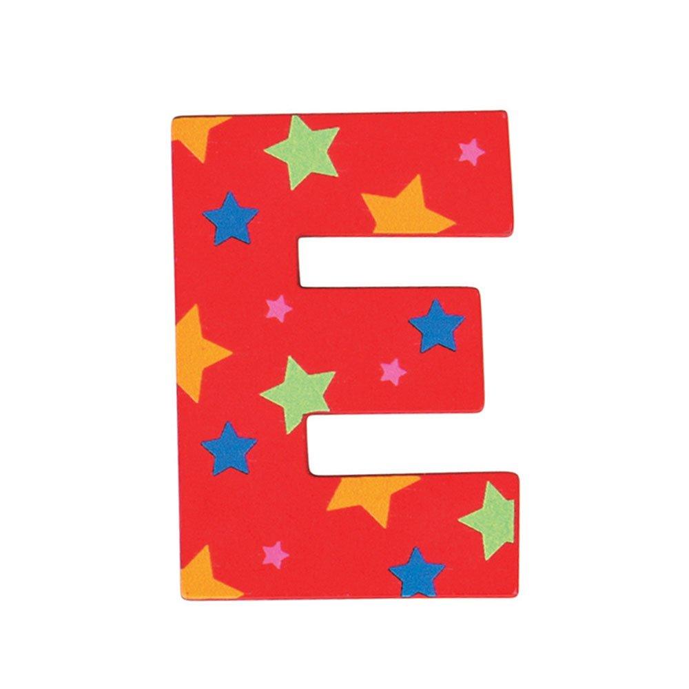 Red Bigjigs Toys Star Letter O
