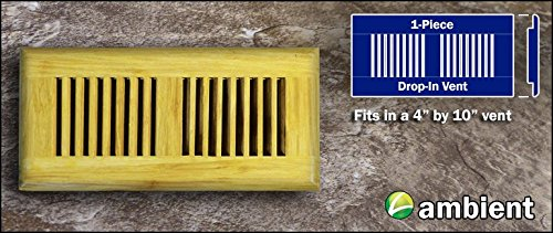 n 4x10 Natural Vent Grill Prefinished ()