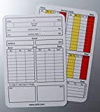 MyReferee Score Sheets Football Game Log Referee Cards Notepad NEW GENERATION (100 pieces)